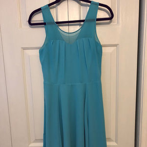 Little Blue Cocktail Dress - Express